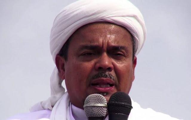 Pakai Al-Maidah 51 untuk Ahok, Kini Rizieq Minta Perlindungan ke Orang Kafir