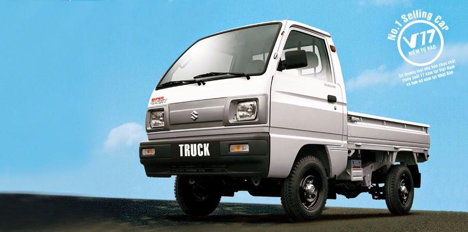 Suzuki super Carry Truck 500 kg của Việt Nam Suzuki