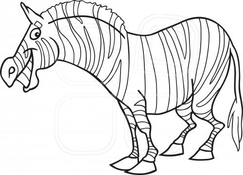 La Chachipedia Dibujos De Cebras Para Colorear