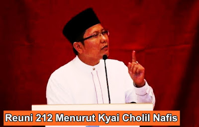 Reuni 212 Menurut Kyai Cholil Nafis | Ketua Komisi Dakwah MUI Pusat
