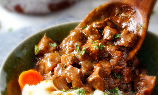 https://carlsbadcravings.com/slow-cooker-beef-tips-and-gravy-no-cream-soup/
