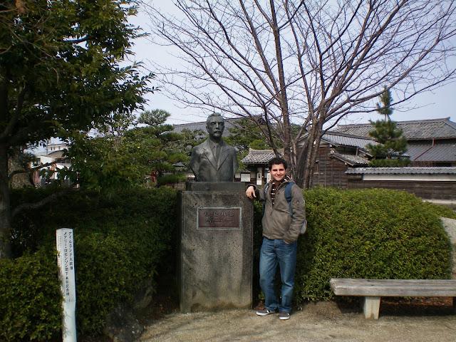Busto de Lafcadio Hearn en Matsue