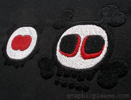 broderie graphic please marquage sur textile motif brod. Black Bedroom Furniture Sets. Home Design Ideas