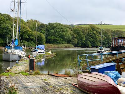 Treluggan boat yard