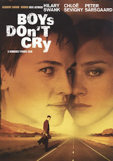 Boys Don't Cry (1999), Directed by: Kimberly Peirce, Starring: Hilary Swank, Chloë Sevigny, Peter Sarsgaard