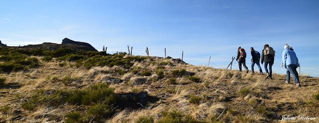 Rando dans le Parc Naturel Régional des volcans d'Auvergne