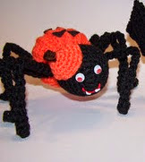 http://www.ravelry.com/patterns/library/pumpkin-spider-and-pumpkin-bat
