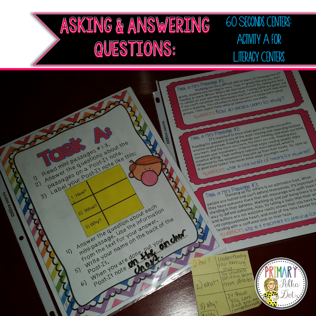 Asking and Answering Questions – Oh hey, ELA!