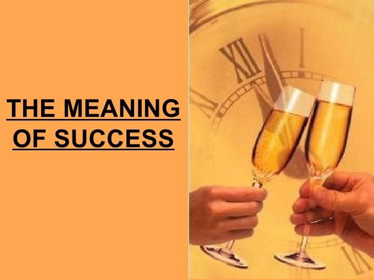 BLOG FOR ESO AT INS MARINA: HAPPEN versus SUCCESS