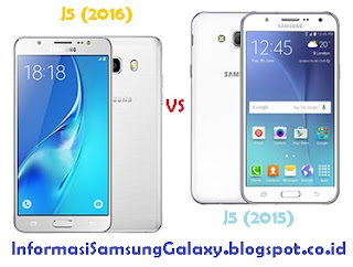 Perbandingan Samsung Galaxy J5 (2016) vs J5 (2015)