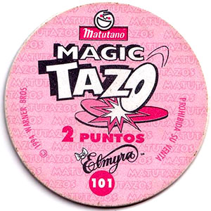 Reverso Magic Tazos