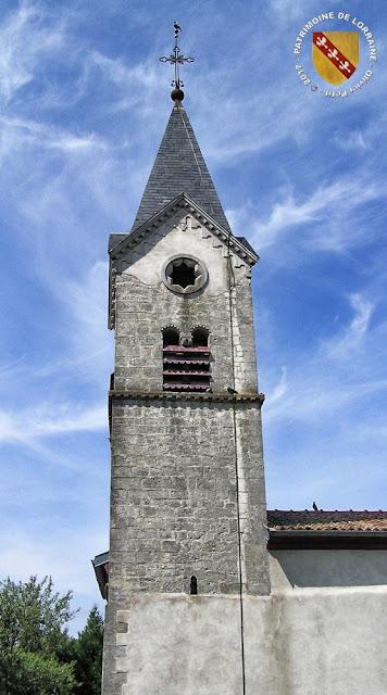 GRISCOURT (54) - Clocher roman de l'église Saint-Martin