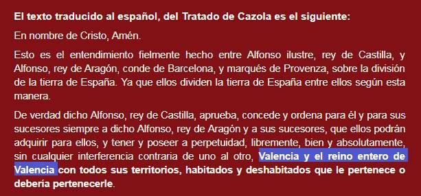 Tratat de Cazorla, regne, València, Alfonso, Castilla, Aragón