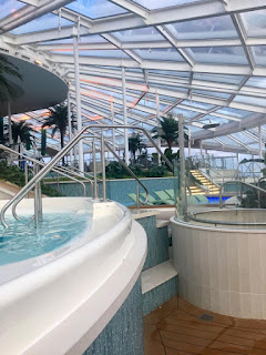 Royal Caribbean Anthem seas, solarium