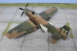 A-1J Skyraider de Tamiya au 1/48.