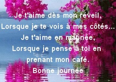 Berühmt Message mignon pour dire bonjour ~ Poème et Textes d'amour UD19