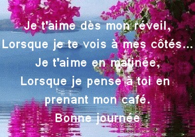 Message Mignon Pour Dire Bonjour Poèmes Et Textes Damour