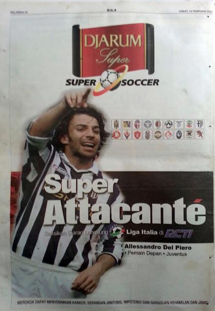 Super Attacante Alessandro Del Piero (Juventus)