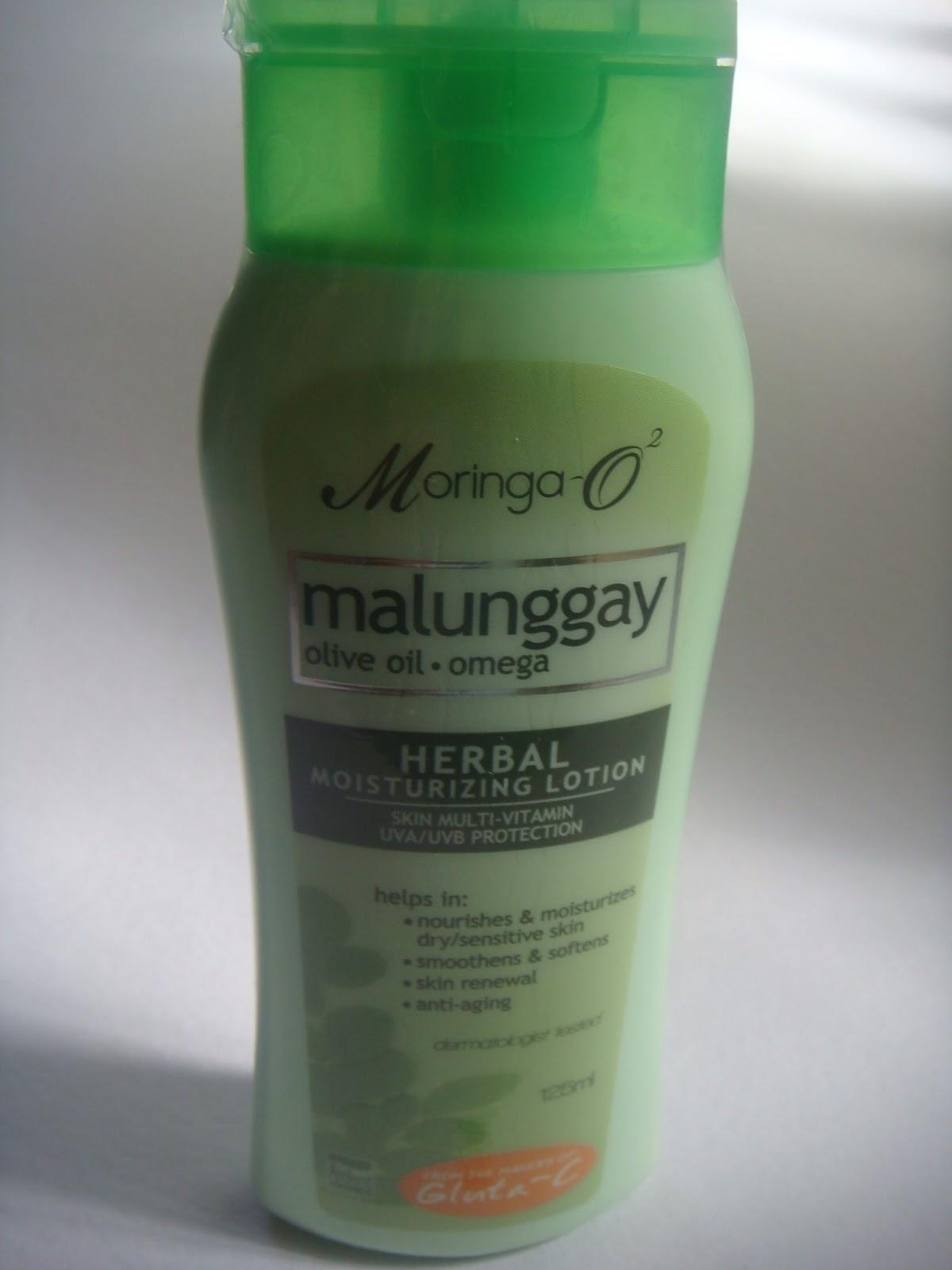 Malunggay lotion