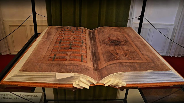 Codex Gigas, bíblia do diabo