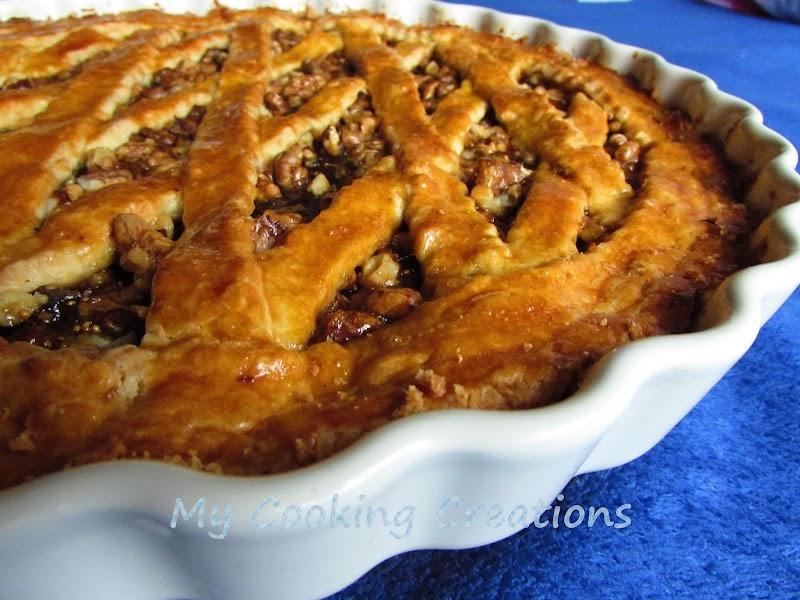 Кростата със сладко от смокини и орехи * Crostata con confettura di fichi e noci