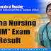 Odisha: GNM (General Nursing and Midwifery) 1st, 2nd, 3rd Year Exam Result 2018