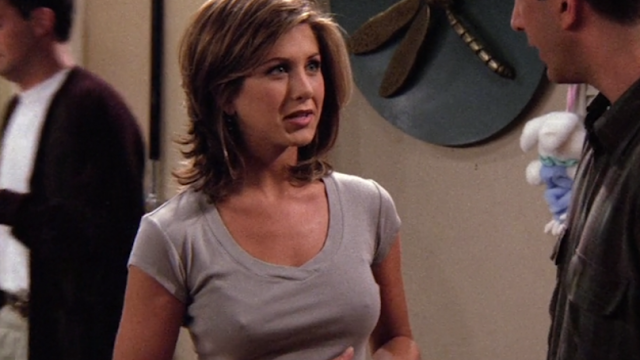 Jennifer aniston friends hard nipples