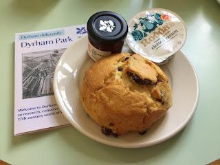 Dyrham Park scones