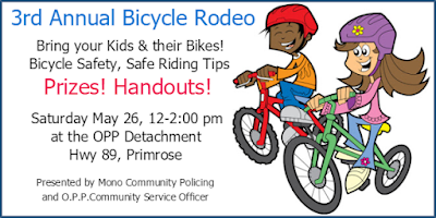 Join Us For our 3rd Annual Bicycle Rodeo