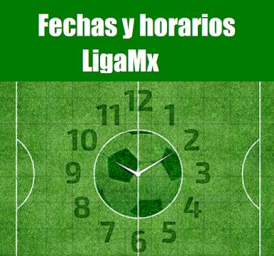 Calendario del futbol mexicano para la jornada 16