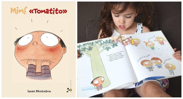 cuentos libros infantiles superar vencer timidez mimí tomatito