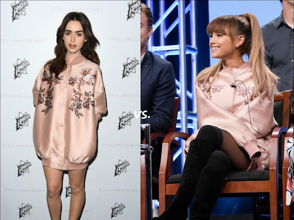 Lily Collins vs Ariana Grande