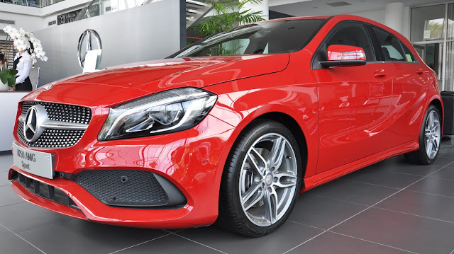 Mercedes A250 2017 phiên bản thể thao sang trọng đẳng cấp