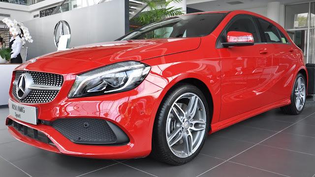 Mercedes A250 2018 phiên bản thể thao sang trọng đẳng cấp