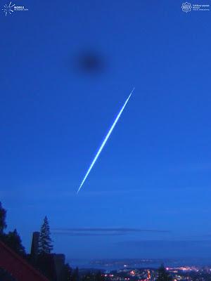 Fireball meteorite over Norway July 4, 2016