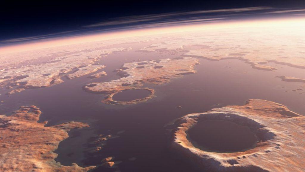Marte Tendría Agua, Pero Menos De La Que Se Creía