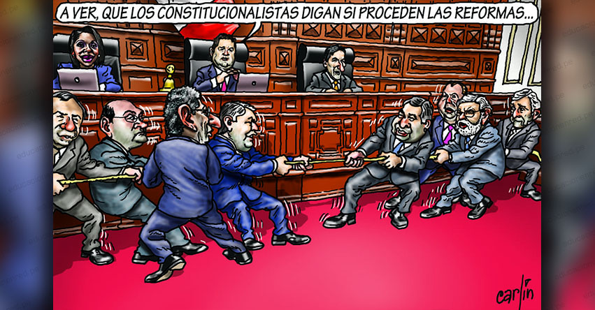 Carlincaturas Jueves 6 Junio 2019 - La República