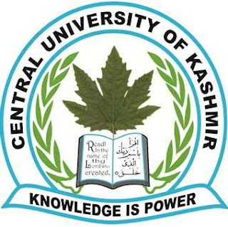 CUCET Admissions - 2019 - Central University of Kashmir