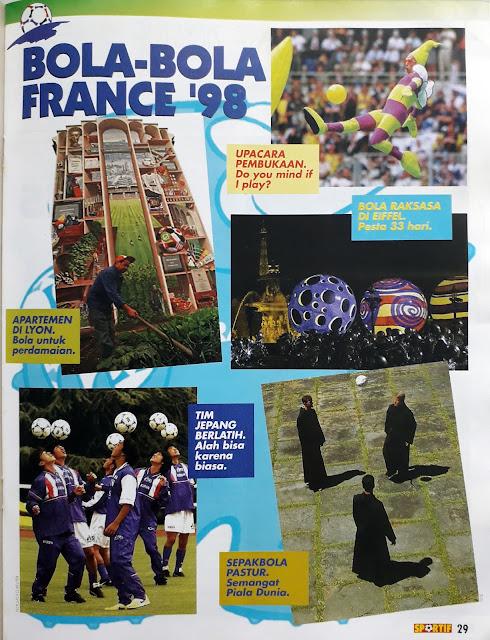 BOLA-BOLA FRANCE '98