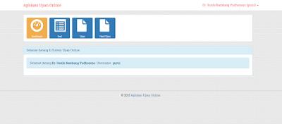 Source Code Aplikasi Ujian Online Codeigniter, AJAX, JSON