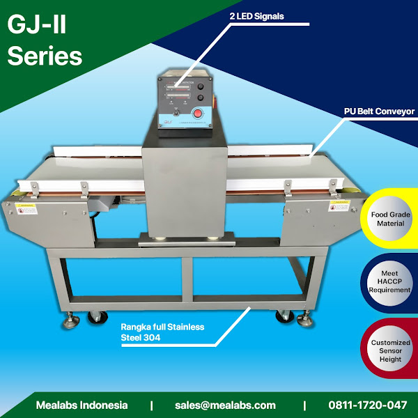 GJ-II Series Conveyorised Metal Detector