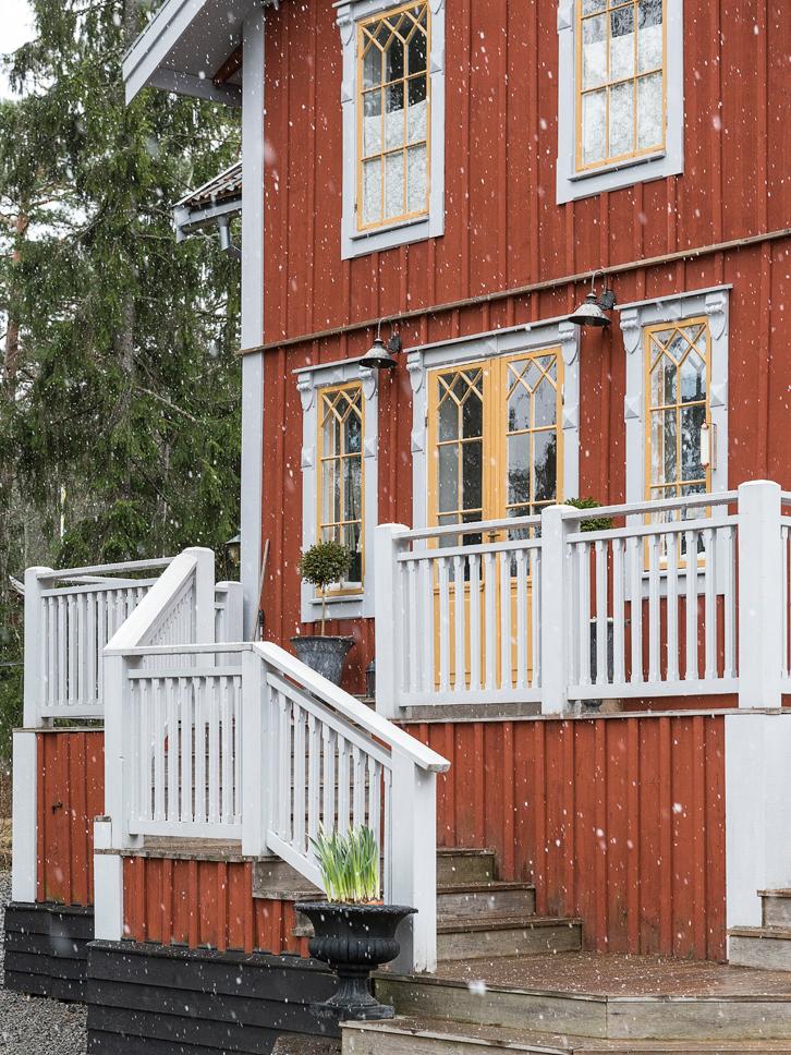 Maison en bois en Suède