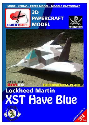 Chibi Lockheed XST Have Blue