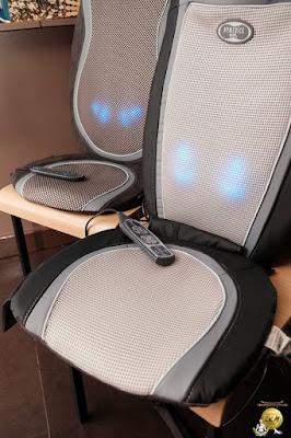 sièges de massage de Nature et découvertes