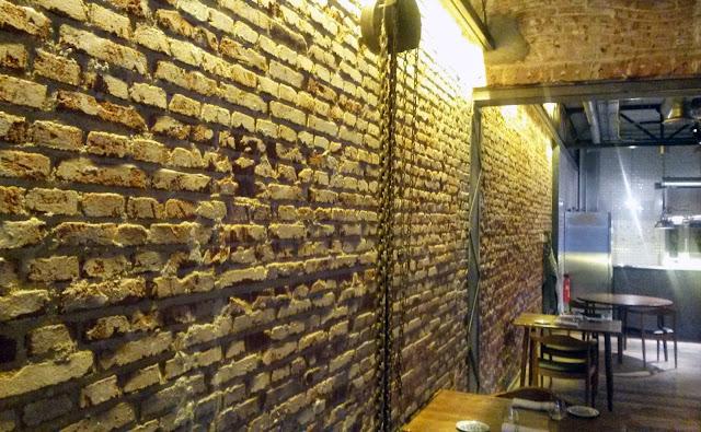 Detalle, restaurante Dstage
