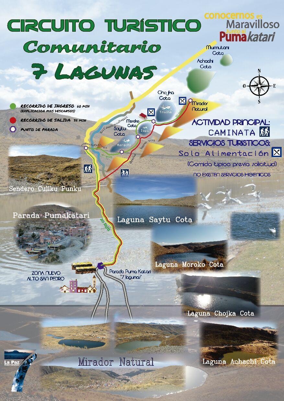 Circuito Turistico : Establecen u ccircuito turístico comunitario lagunasu d con costo de