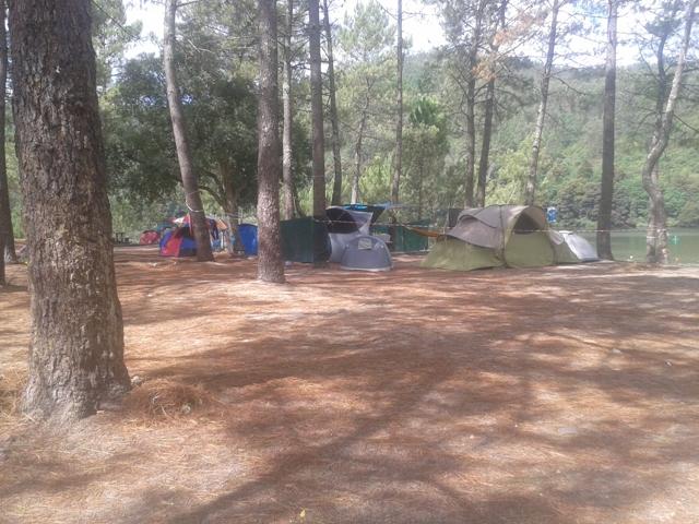 Campismo na Praia Fluvial da Lomba