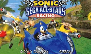 Sonic Racing Touchscreen Landscap 400×240 For Java