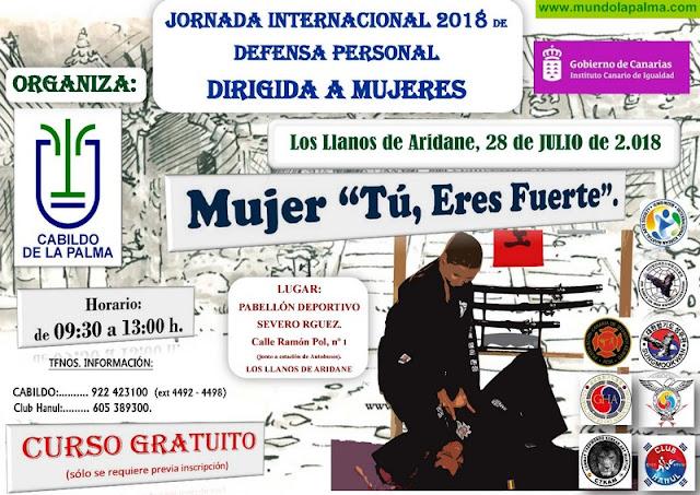 La Palma acogerá una jornada internacional de defensa personal dirigida a mujeres