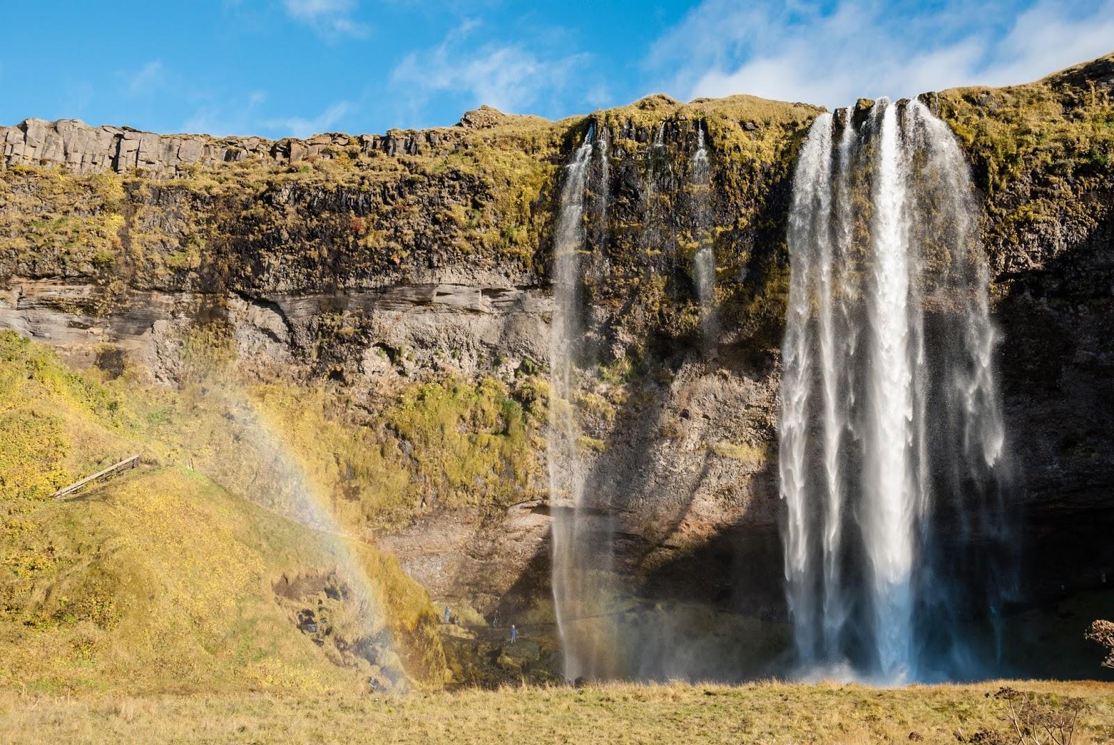 Islandia - dzień wodospadów.